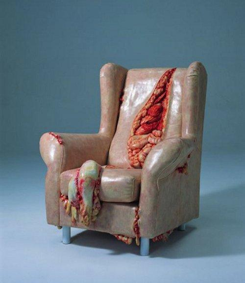 Кресла, в которые вам вряд ли захочется сесть (ФОТО)