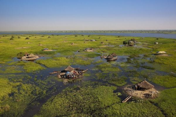 Затерянный мир: болота Судд в Южном Судане (ФОТО)
