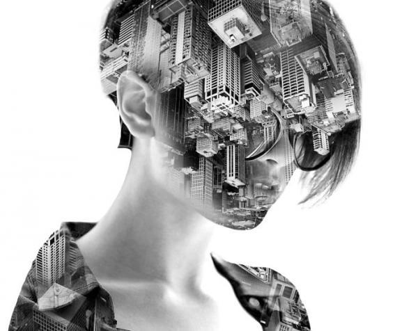 Двойная реальность: необычные работы французского художника (ФОТО)
