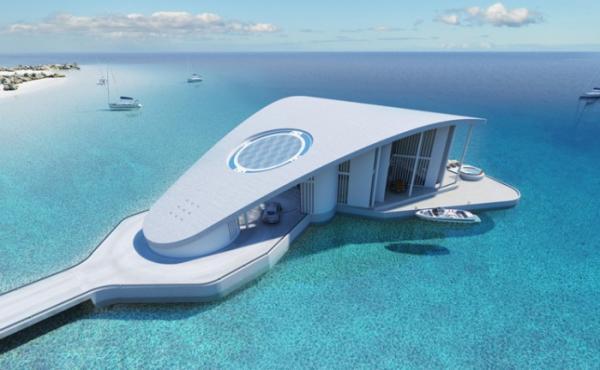 Осваивая водные просторы: шикарный дом на воде (ФОТО)