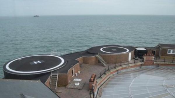 """""""Форт на ничейной земле"""": одна из самых необычных гостиниц в Европе (ФОТО)"""