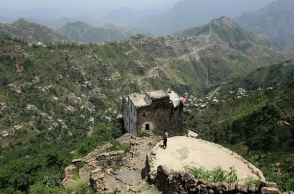 Сбежавшие от войны: деревня беженцев в горах Йемена (ФОТО)