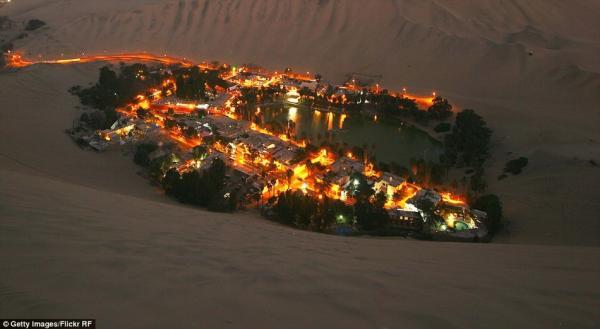Удивительный чудо-город посреди пустыни в Перу (ФОТО)