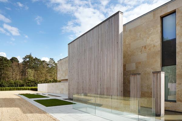 Разбивающий шаблоны и традиции: шикарный современный дом в Англии (ФОТО)