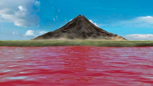 Природный феномен: зловещее озеро Натрон (ФОТО)