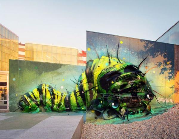 Потрясающие скульптуры животных из мусора и хлама (ФОТО)