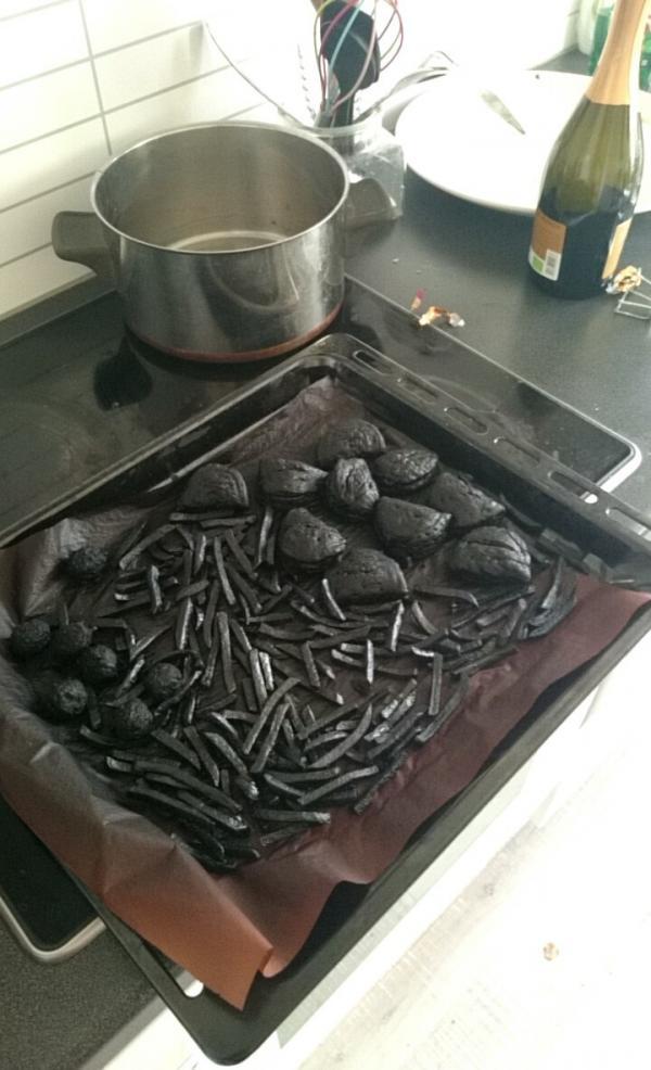Неудачный брак, или когда твоя жена не умеет готовить (ФОТО)