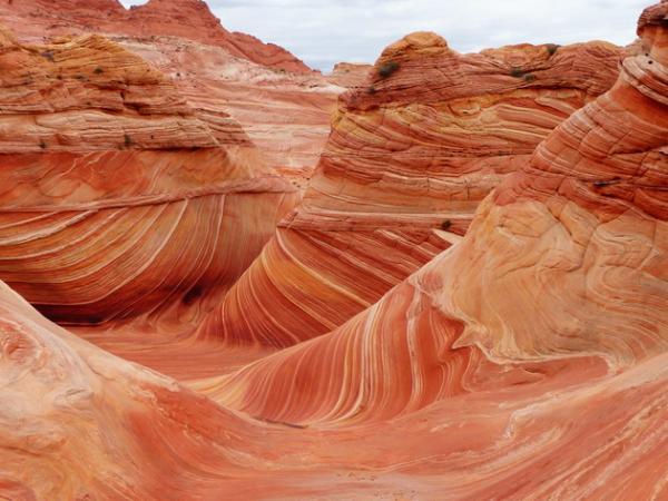 Поразительное природное образование: песчаные волны Аризоны (ФОТО)