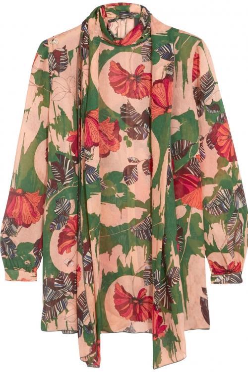 Цветы в тренде: интересные наряды от именитых дизайнеров (ФОТО)