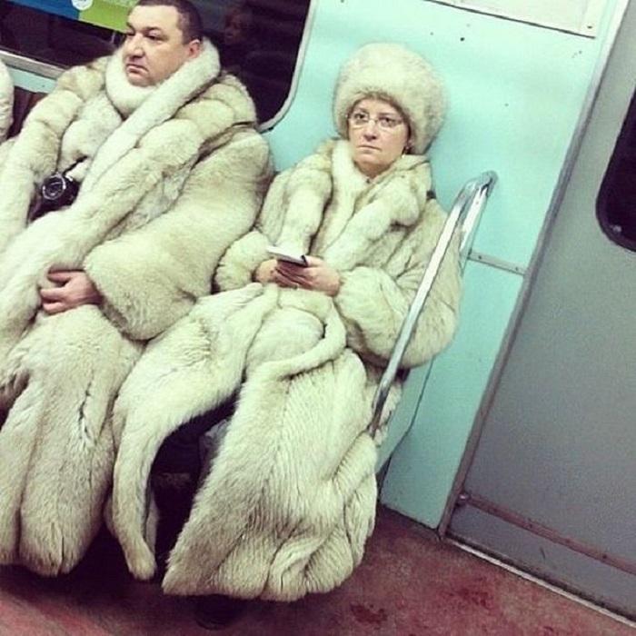 Городские модники. Самые яркие персонажи метрополитена (ФОТО)