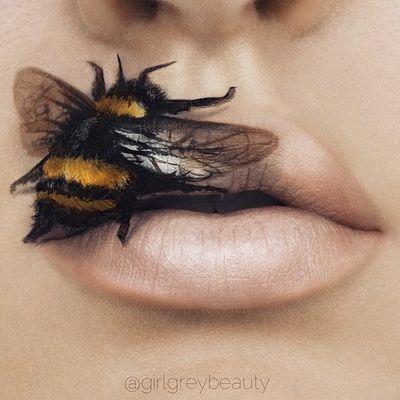 Искусство макияжа: невероятные рисунки на губах (ФОТО)