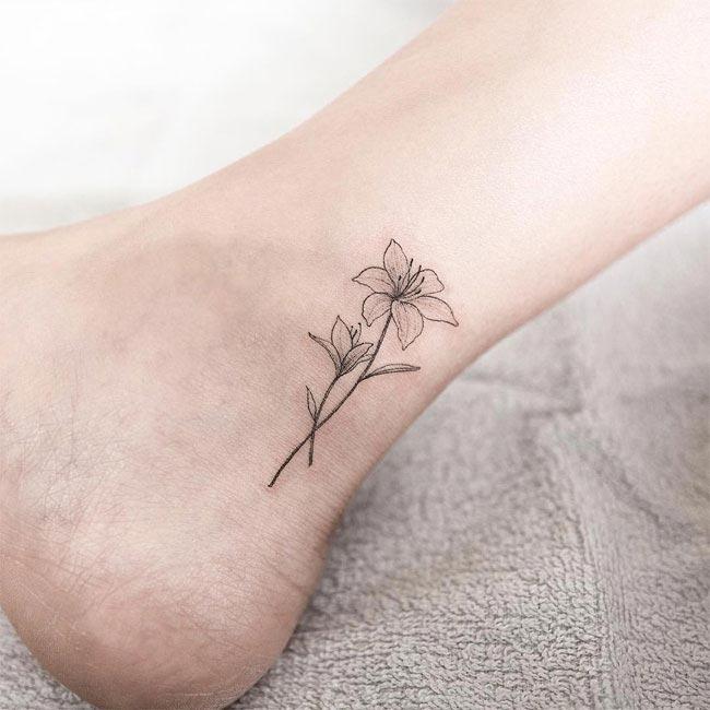 Подборка утонченных минималистичных татуировок (ФОТО)