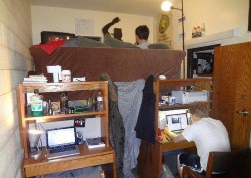 Веселая жизнь в студенческой общаге (ФОТО)
