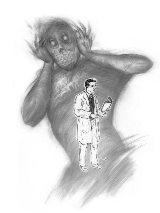 Жуткий мир: рисунки людей, страдающих шизофренией (ФОТО)