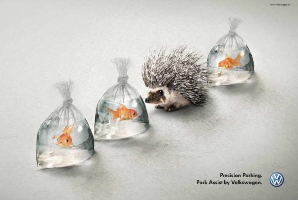 20 блестящих идей, которые вывели рекламу на новый уровень (ФОТО)