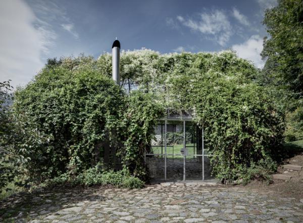 Объединяя природу и технологии: дом из полевых цветов  в итальянских Альпах (ФОТО)