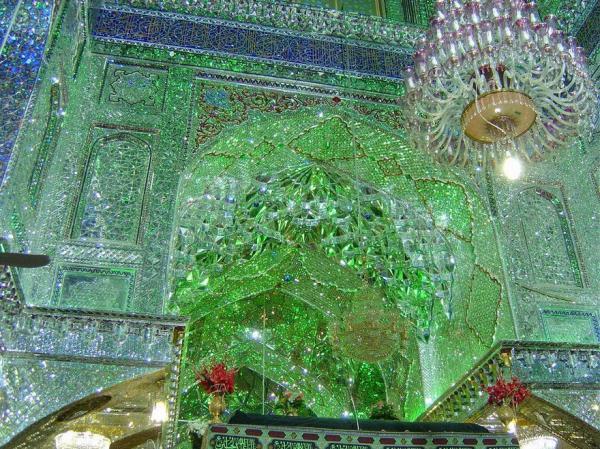 Мавзолей Шах-Черах - жемчужина архитектуры Ирана (ФОТО)