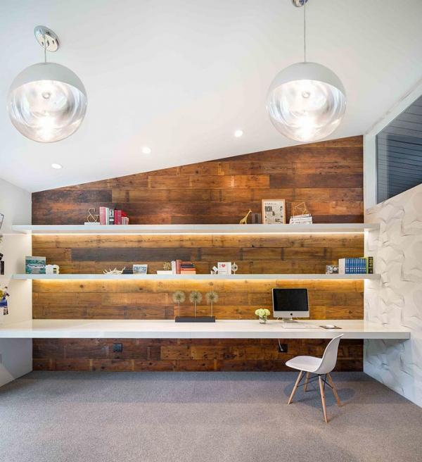 Эко-стиль кабинета: 10 вариантов использования древесины (ФОТО)