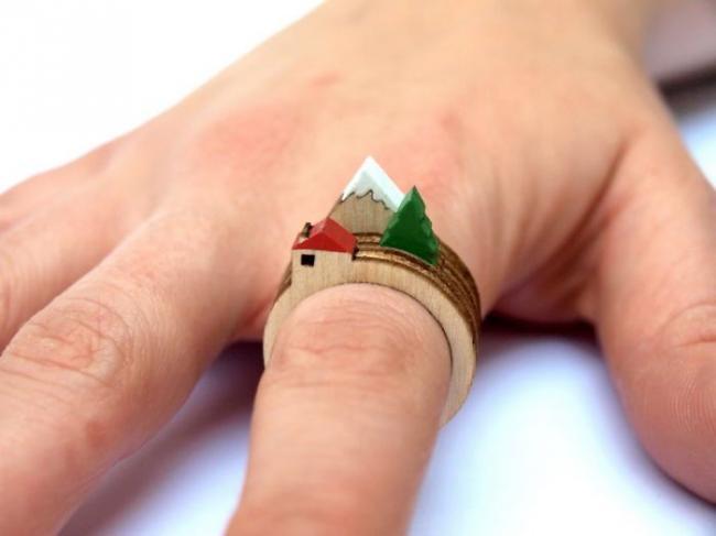 Необычные кольца с самым креативным дизайном (ФОТО)