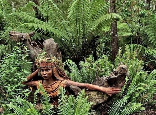 Продукт неумной творческой фантазии: сказочный лес в Австралии (ФОТО)