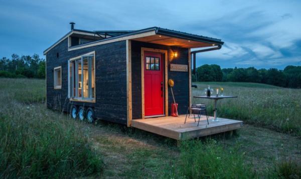 Дом на колесах площадью 31,5 кв. метров, который можно взять с собой в дорогу