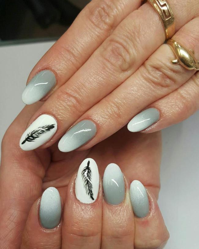 25 доказательств того, что серый маникюр – это не скучно (ФОТО)