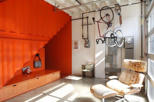 Необычная резиденция в мегаполисе: дом из контейнеров в Нью-Йорке (ФОТО)