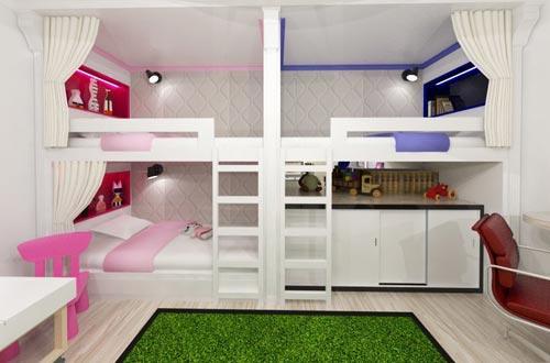 Компактная и просторная детская: три идеальных варианта (ФОТО)