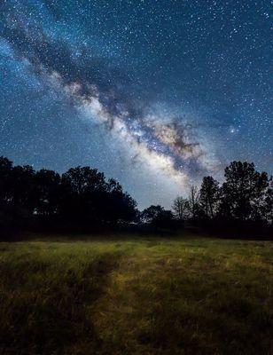 Звездное небо сквозь объектив калифорнийского художника (ФОТО)