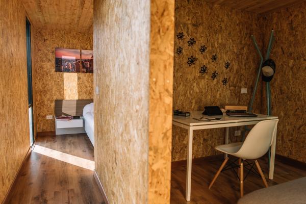 Простые линии и натуральная цветовая гамма: модульный дом от мастеров из Колумбии (ФОТО)