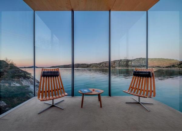 Остров в окружении природы: необычный отель в Норвегии (ФОТО)