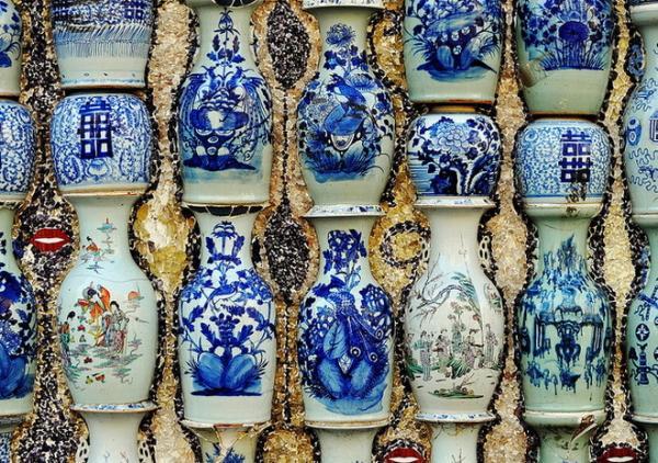 Фарфоровый дом: необычная достопримечательность Китая (ФОТО)