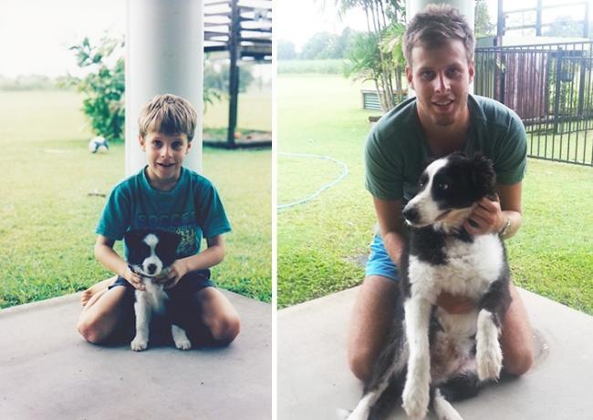 17 собак, которые выросли вместе со своими владельцами (ФОТО)