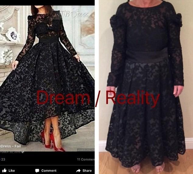 Покупка платья через интернет: радужные ожидание и печальная реальность (ФОТО)