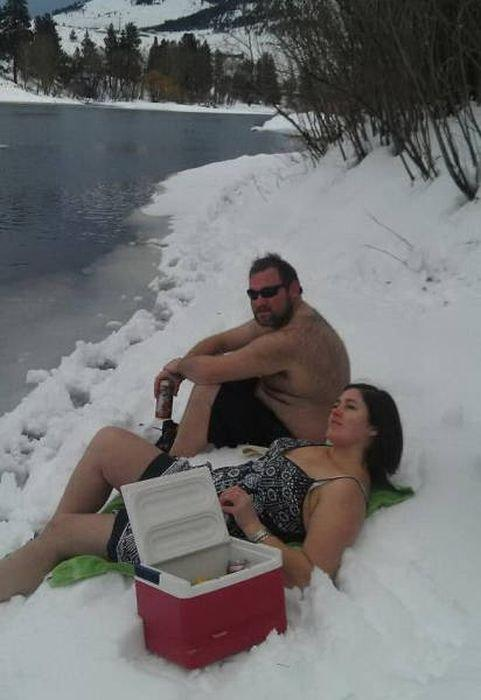 Люди, которые умеют наслаждаться зимой (ФОТО)