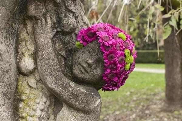 Полет фантазии брюссельского флориста: нестандартный подход (ФОТО)