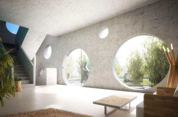 Архитекторы из Тайваня представили на суд общественности жилище будущего (ФОТО)