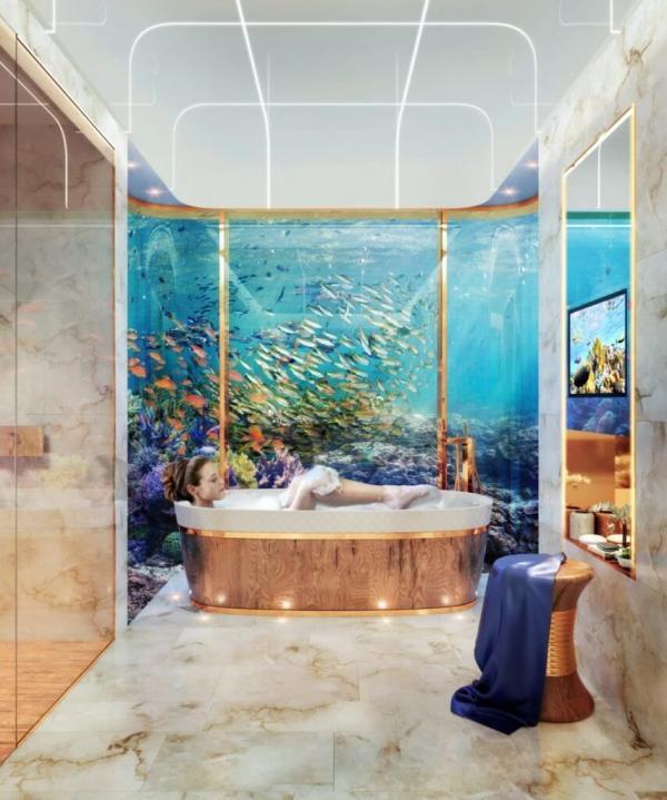 Невиданная роскошь: подводная вилла (ФОТО)