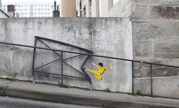 Шедевры стрит-арта со всего мира (ФОТО)