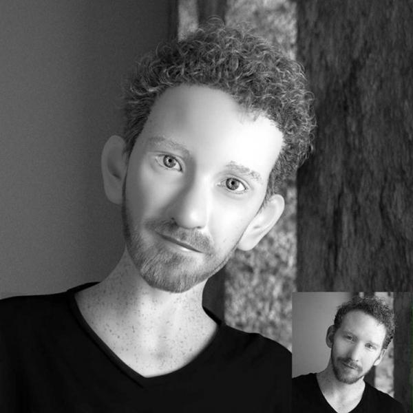 Художник превращает аватарки случайных пользователей в потрясающие 3D-портреты (ФОТО)