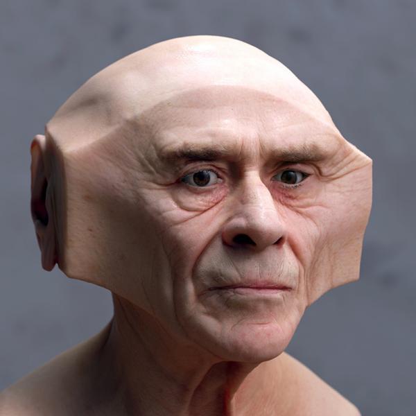 Геометрическиобразные деформации человеческих лиц от Ли Григгса (ФОТО)