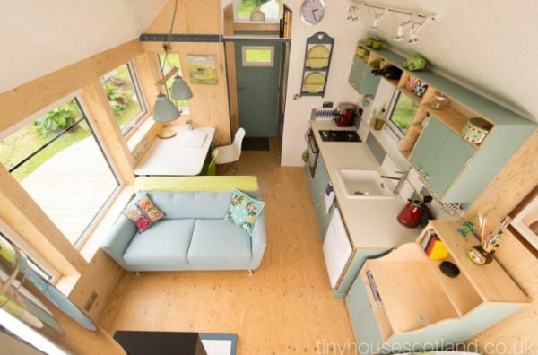 Домик площадью 29 кв. метров - отличный вариант для дачной постройки (ФОТО)