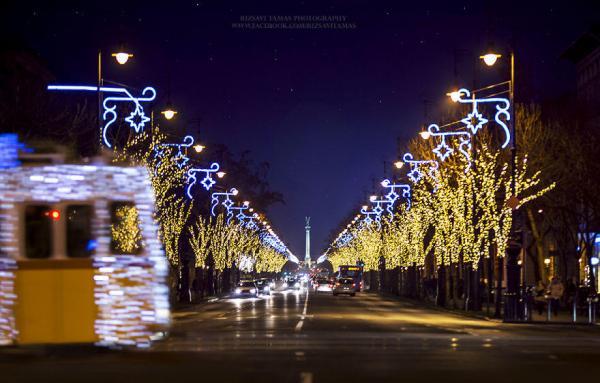 Праздничная атмосфера: волшебные фотографии Будапешта перед Рождеством (ФОТО)