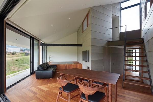 В форме веера: в Японии появился очередной необычный жилой дом (ФОТО)