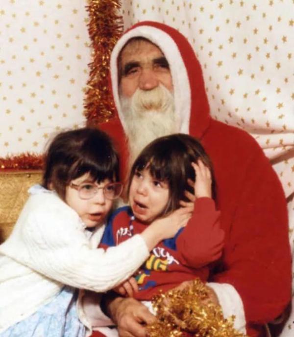 Снимок с Дедом Морозом: ожидание и реальность (ФОТО)