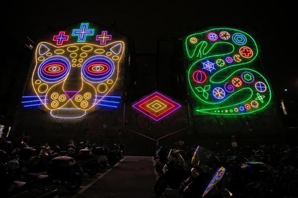 Geneva Lux удивляет яркими огнями фестиваля (ФОТО)