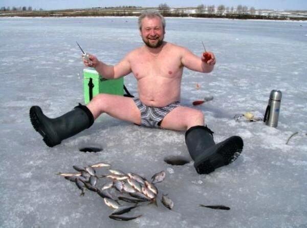 15 безбашенных фото людей, для которых зима — любимое время года (ФОТО)