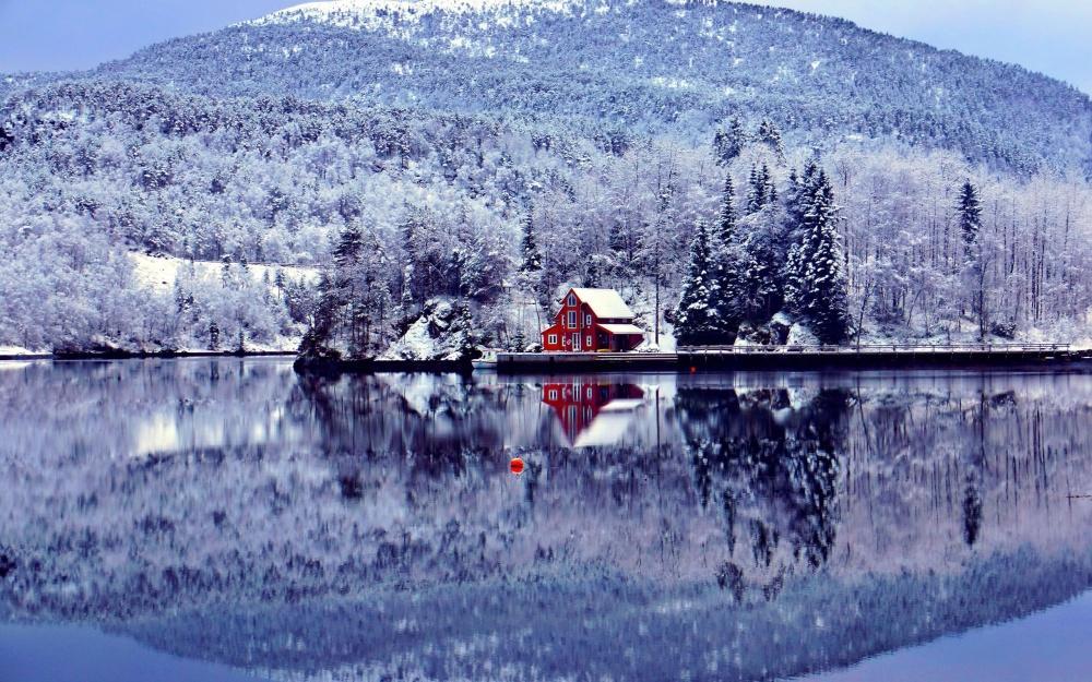 12 домов на краю света, в которые так и хочется сбежать зимой (ФОТО)