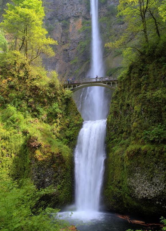 Водопад Малтнома: потрясающая природная достопримечательность Северной Америки (ФОТО)