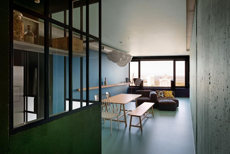 «Зелёная квартира» с панорамой Киева - свежий взгляд столичных дизайнеров (ФОТО)